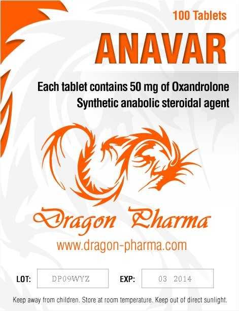 Anavar 50 Dragon Pharma