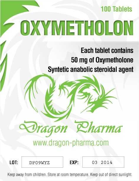 Oxymetholone Dragon Pharma
